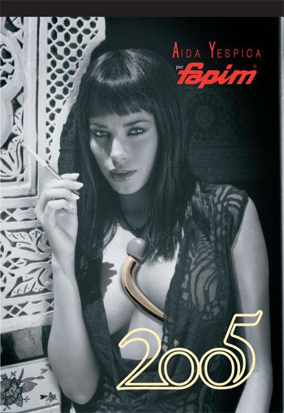 Calendario Aida Yespica.Calendario Aida Yespica Per Fapim Copertina